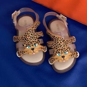Mini Melissa + Jeremy Scott adorable sandal size 7